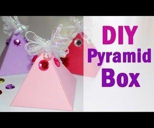 DIY Pyramid Gift Box - How to Make Easy Paper Box