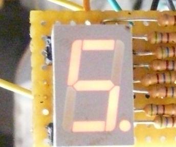 Quickly set up a 7 segment display