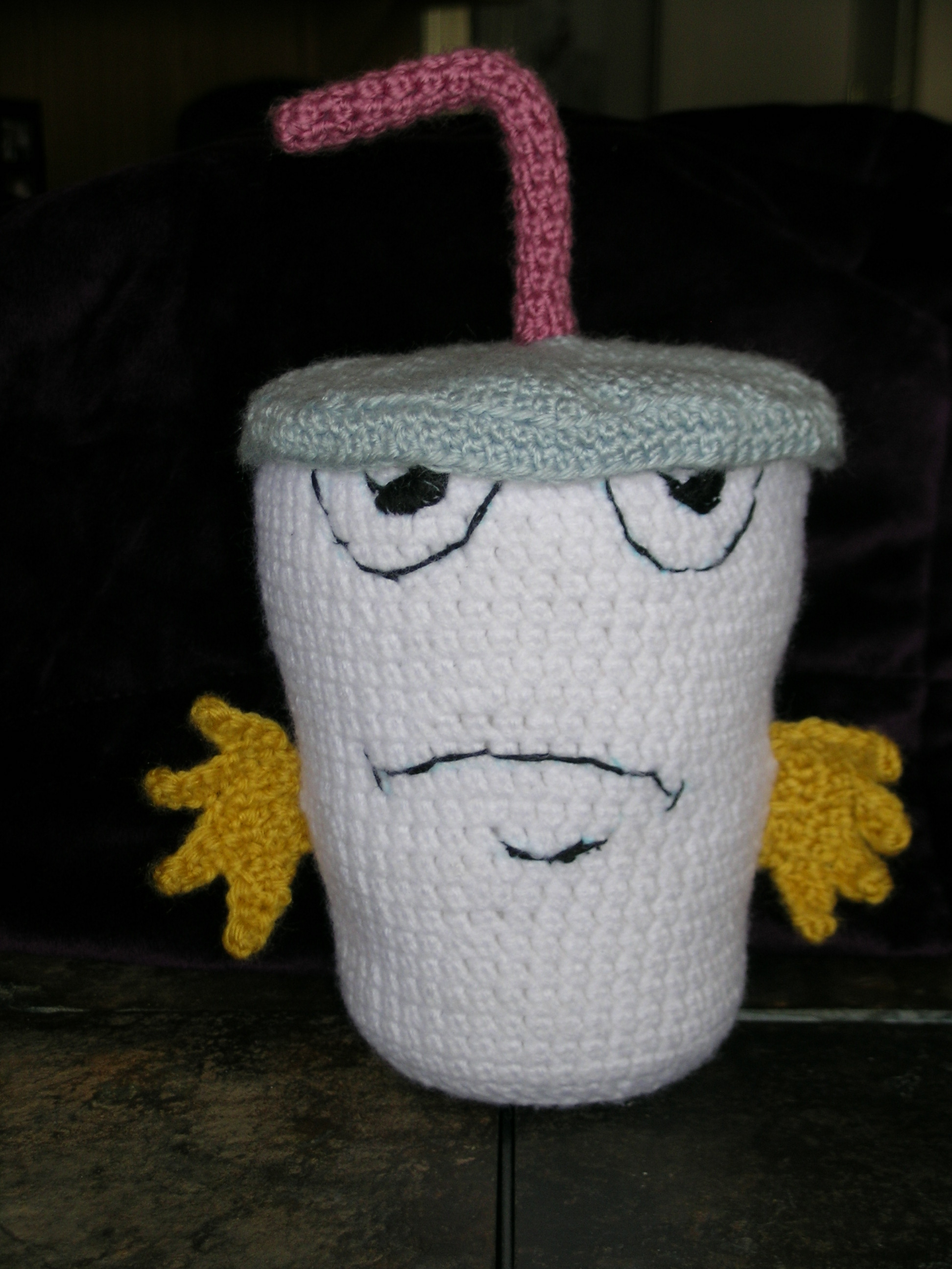 Crocheted Master Shake