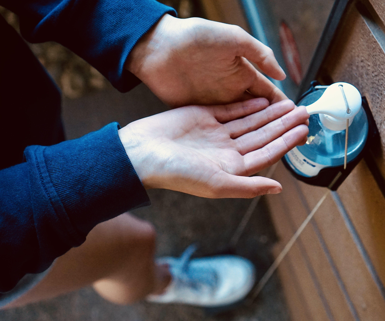 Hands-Free Wall-Mounted Hand Sanitizer Dispenser