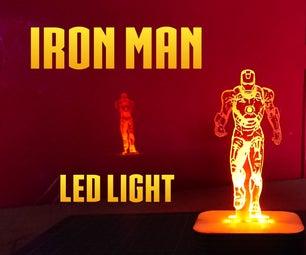 Iron Man Led Light
