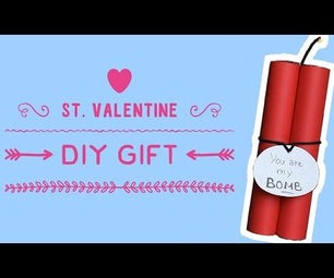 St. Valentine Gift - Candy Bomb - Video Tutorial