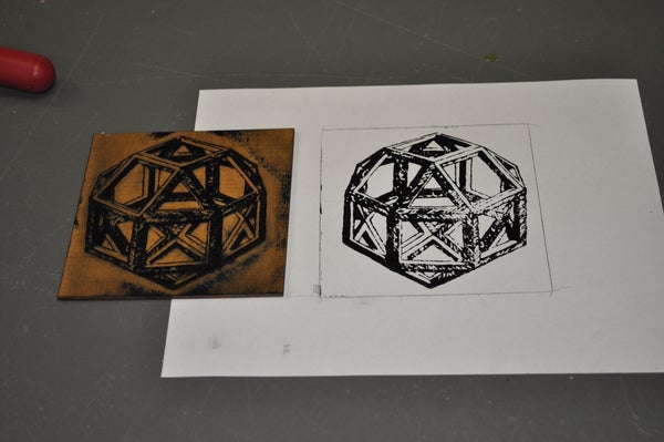 Woodblock Printing With the Laser Cutter