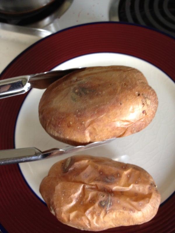 Bread Machine Crispy Baked Potatoes