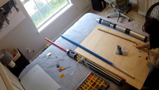 Measure and Mark the Wood