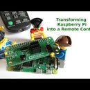 Transforming Raspberry Pi Into a Remote Control