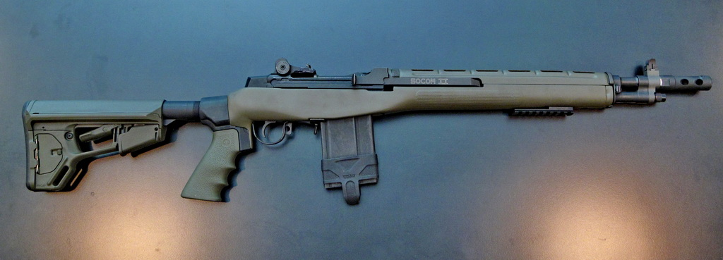 Build A Custom Stock for the Springfield M1A