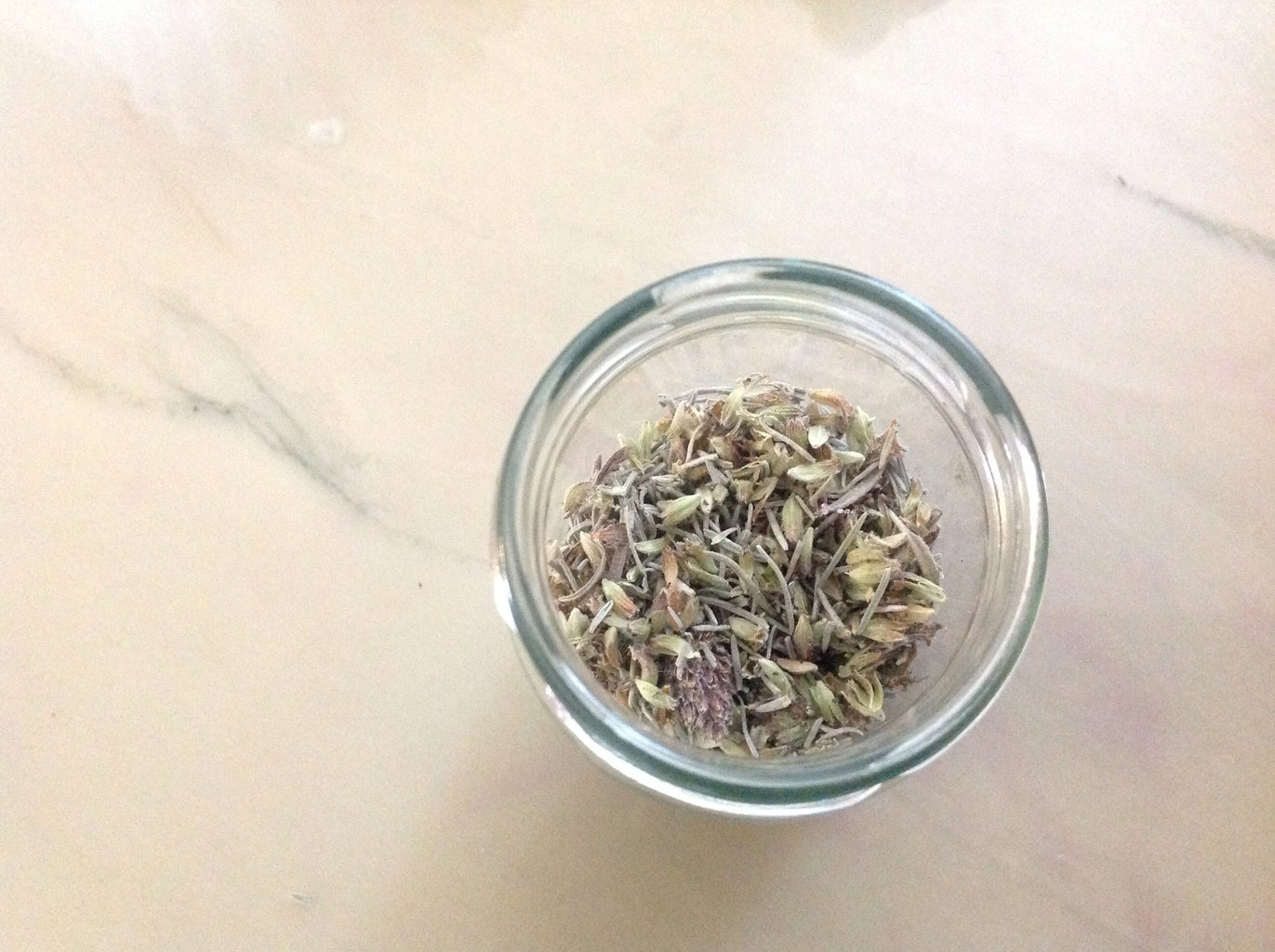 Drying the Lavender