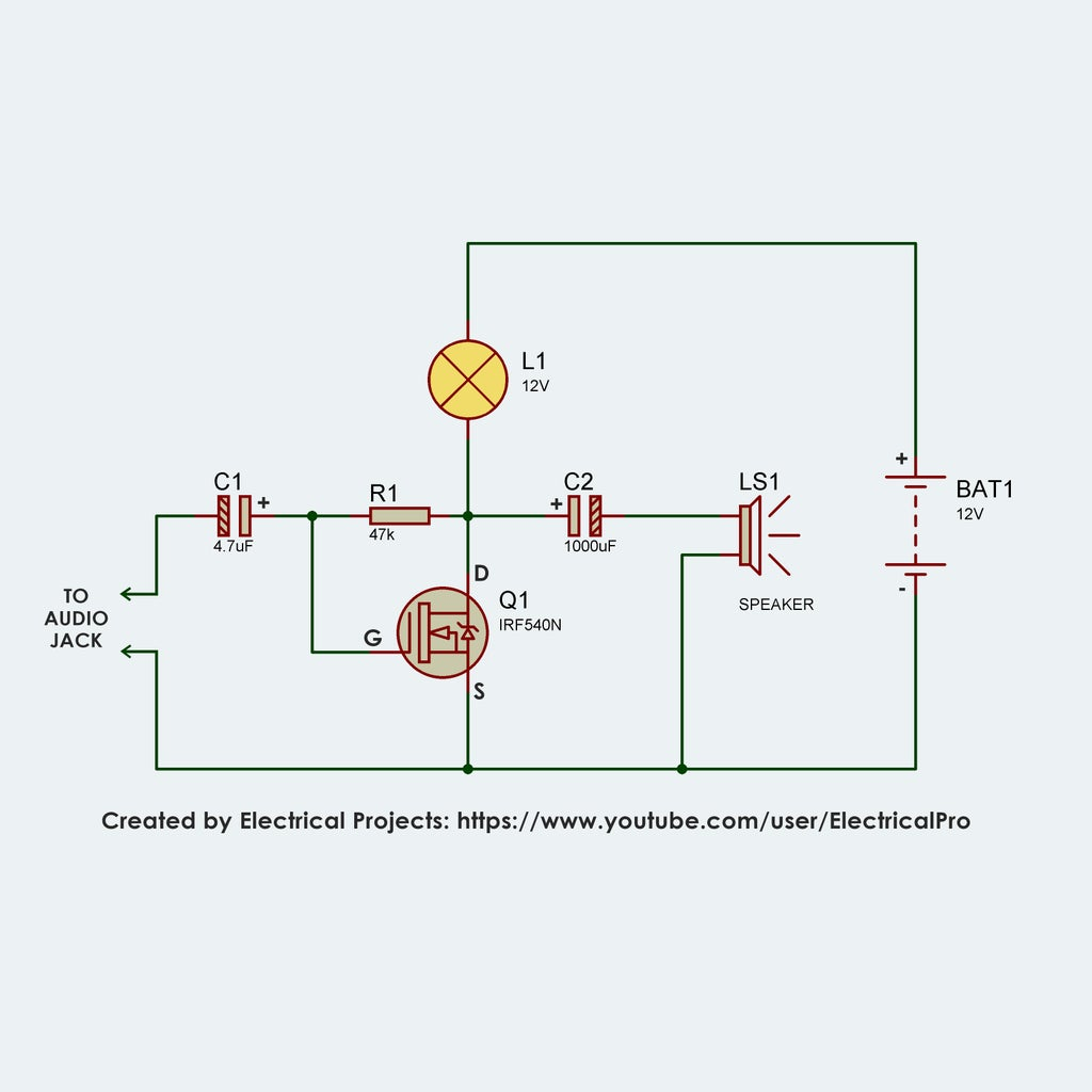 Assemble Components According to the Circuit