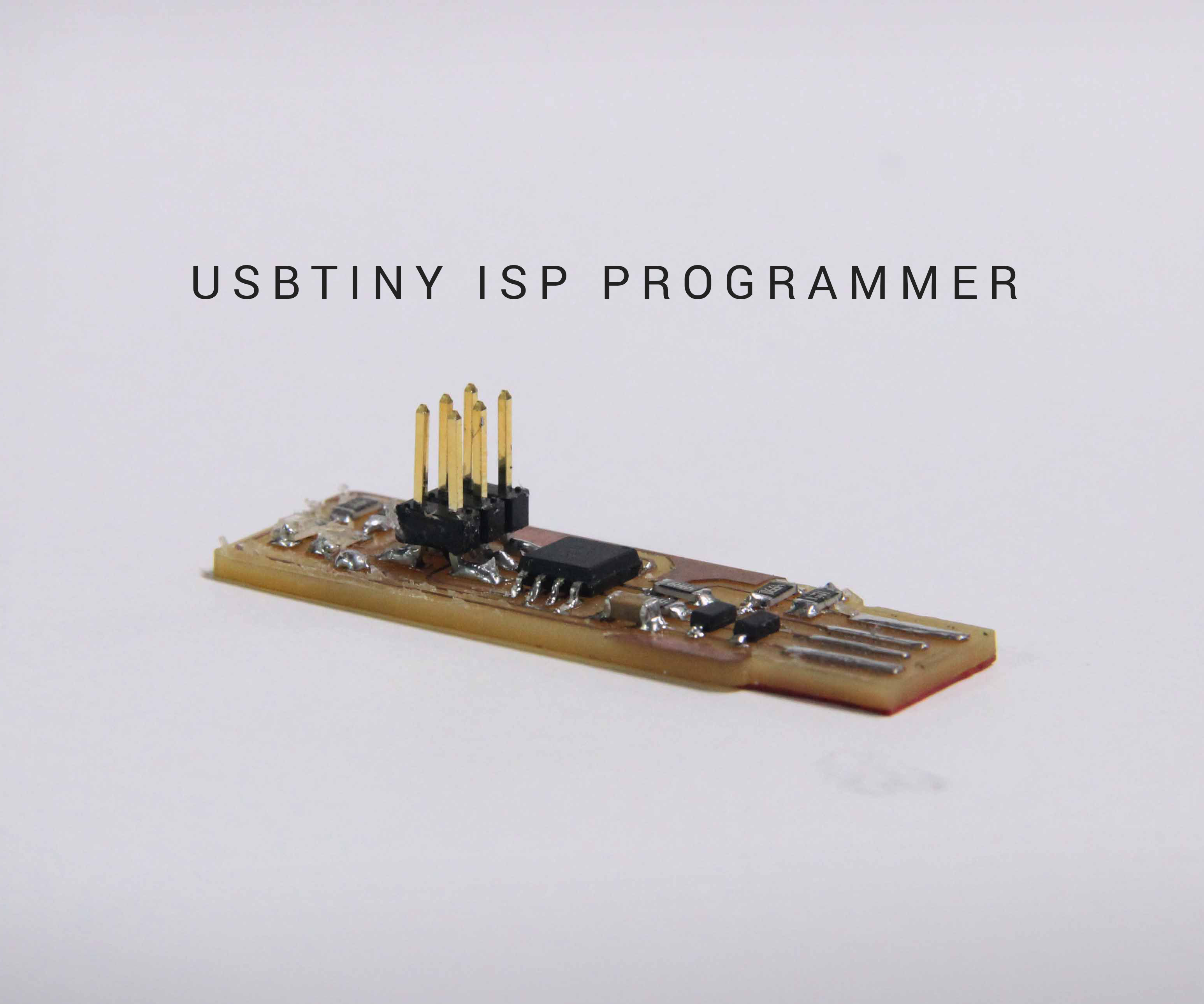 Build a USBTINY ISP Programmer