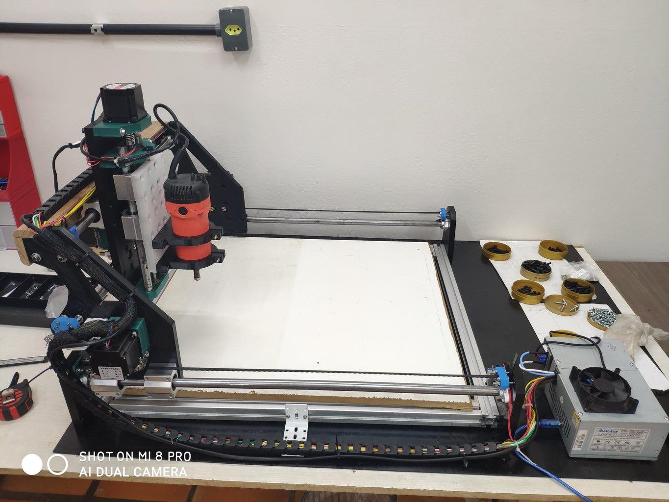 3D Printed 500x400mm Router CNC