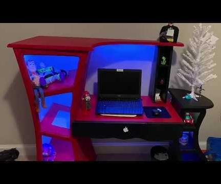 Custom Led Lighted Desk