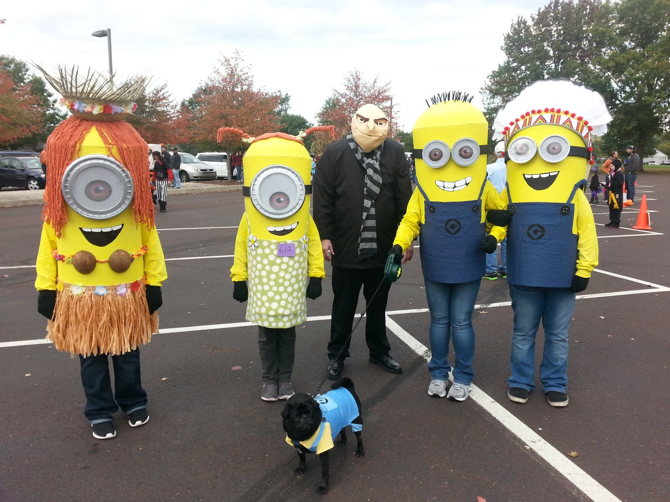 The Minions and Gru