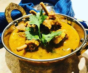 Daal Gosht (Goat Meat in Lentil Sauce)