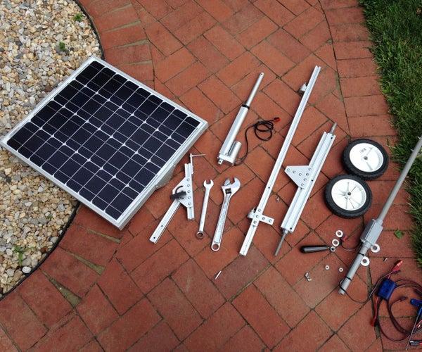 Portable Solar Auto Tracking System
