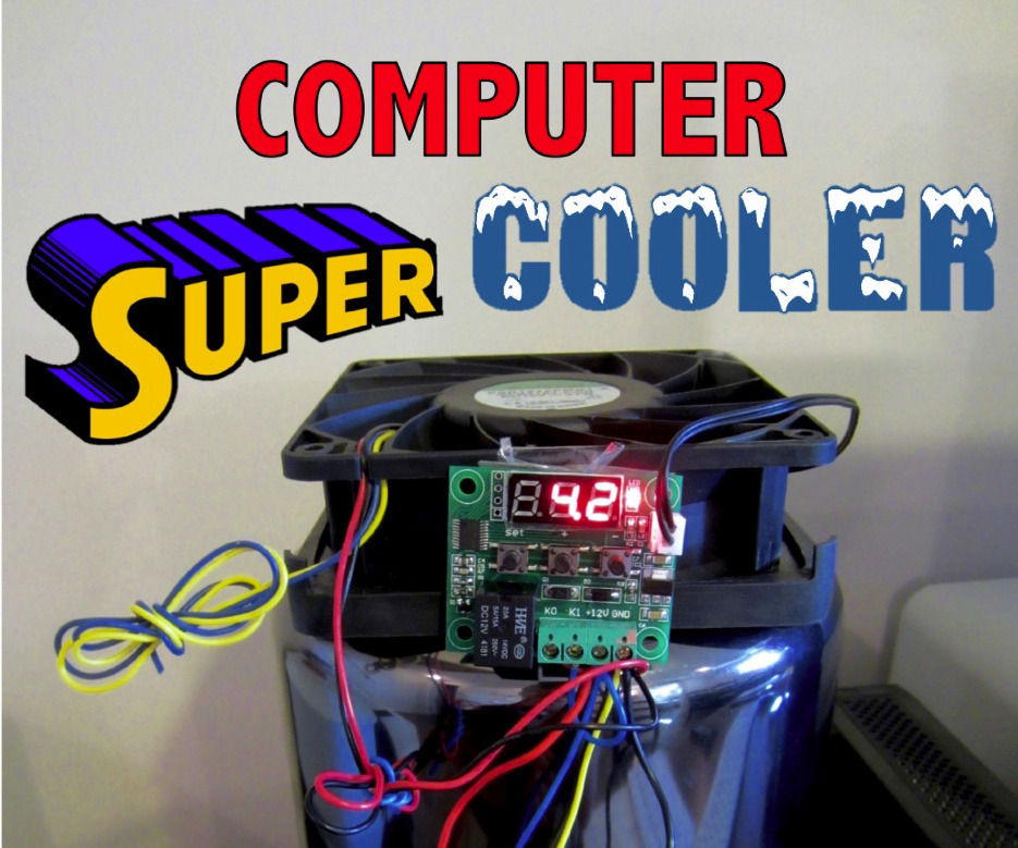 Autonomous Self Powered Computer Super Cooler