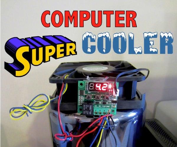 Autonomous Self Powered Computer Cooler