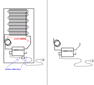 How to Modify a Fridge Compressor Into a Silent Air Compressor : 3 Steps -  InstructablesInstructables