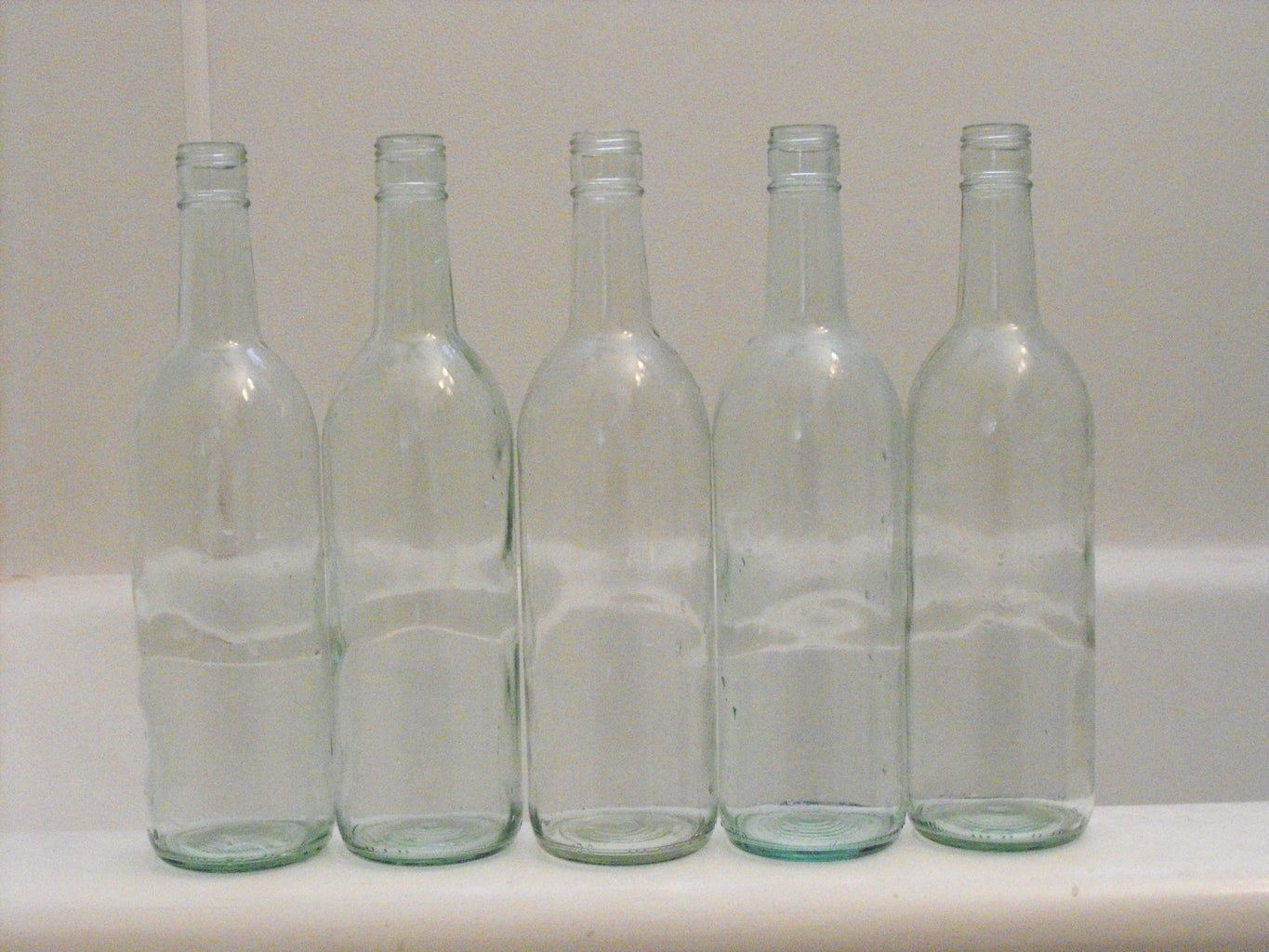 Soak Your Bottles and Scrub Off the Labels