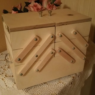 Folding Sewing Box - for Beginners