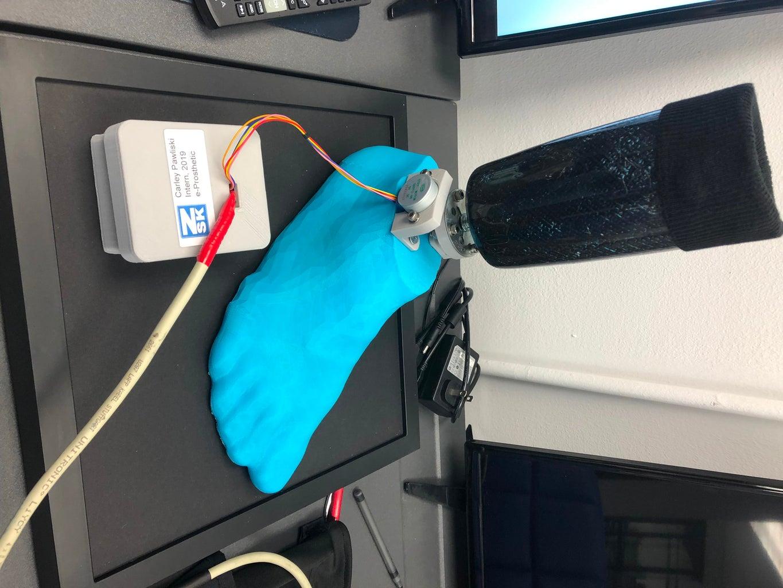 Mechatronic Prosthetic With EMG Sensors
