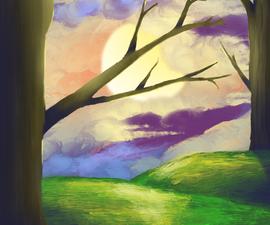 Creating a Stylized Landscape Using Procreate