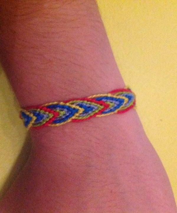Leaf Friendship Bracelet