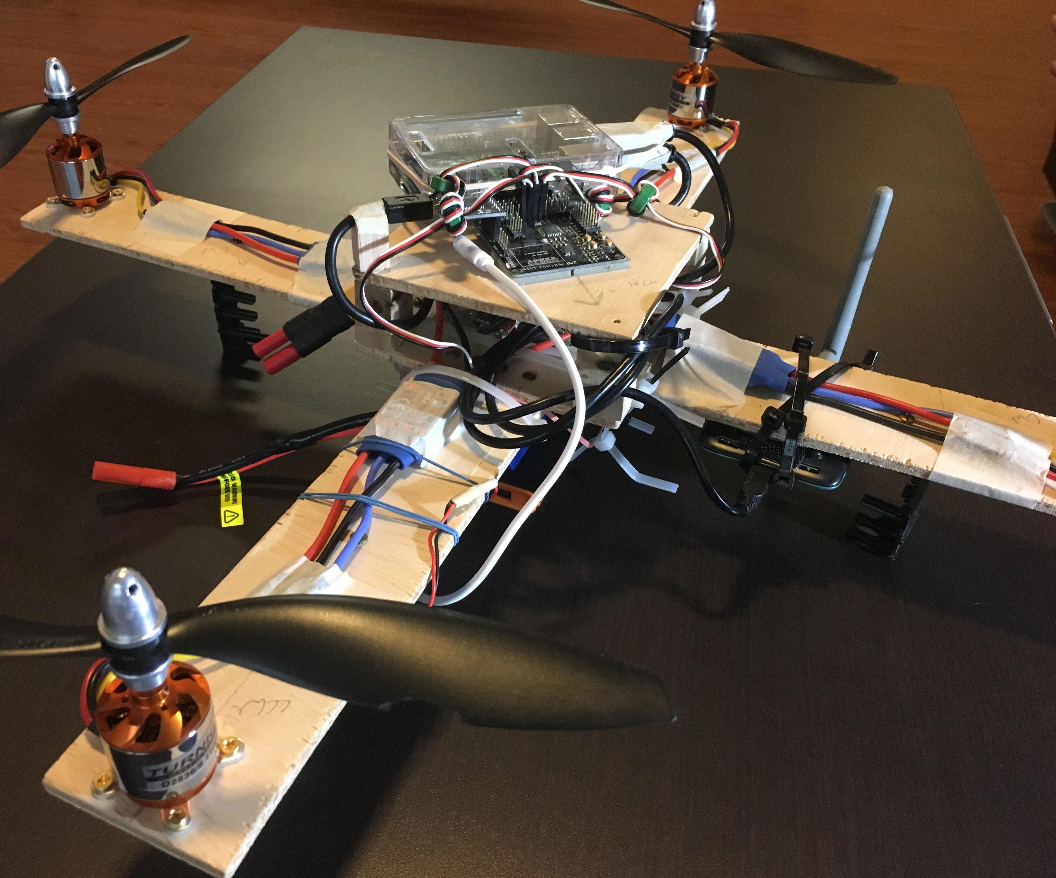 The Pi Quadcopter