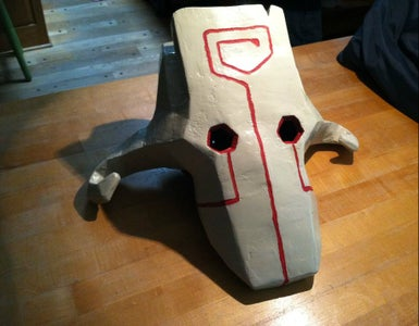 Make a Costume Mask Using Pepakura (Bonus: Foam Armor)