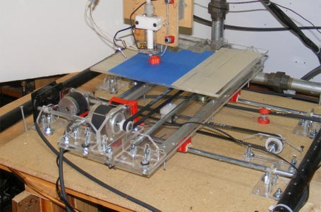 2BEIGH3 3D Printer X and Y Table