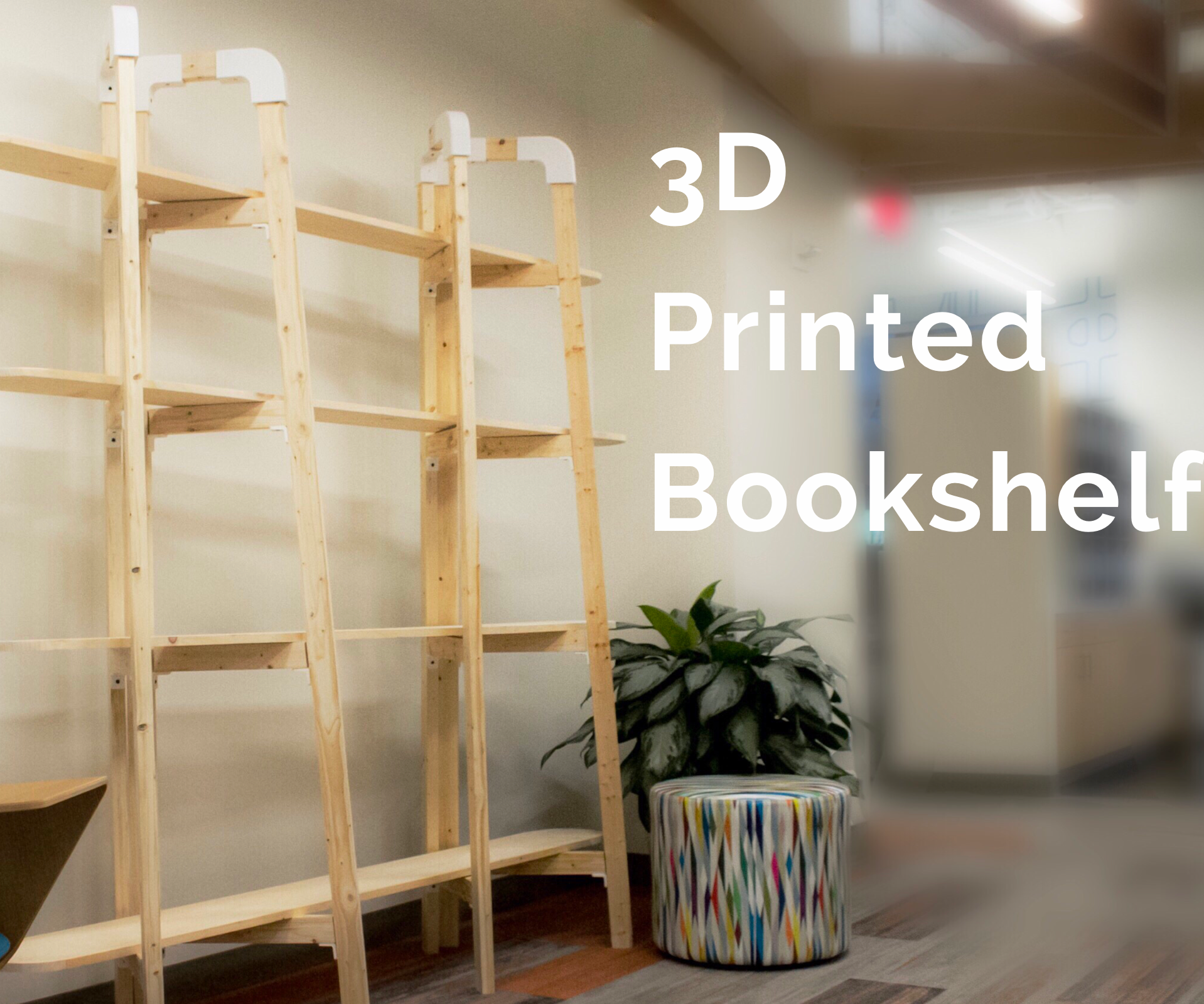 DIY 3D Printed Book Shelf