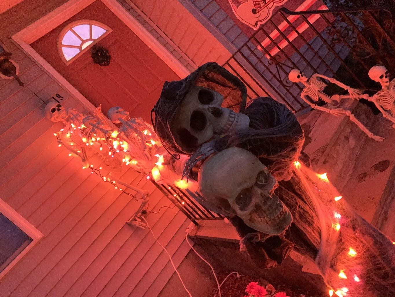 Socially Distance Halloween Creepy Candy Shoot