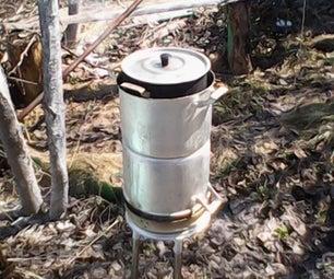 Samara Gasifier Backyard Cooking Stove