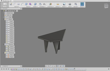 3D Modelling - Legs With Voronoi Pattern