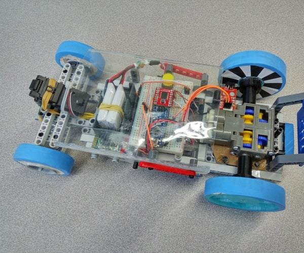 Bluetooth RC Drone Car