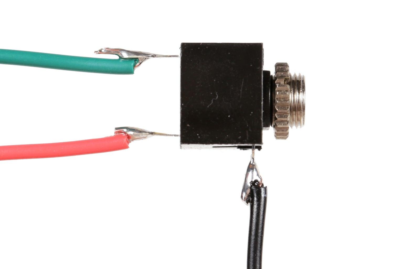 Wire the Input Jacks