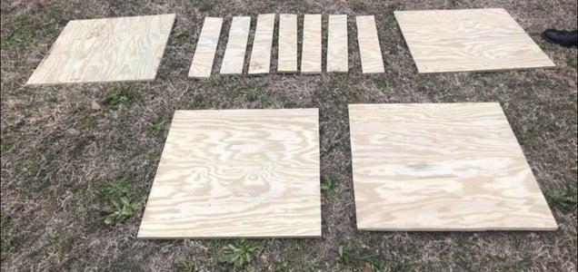 Cut Plywood