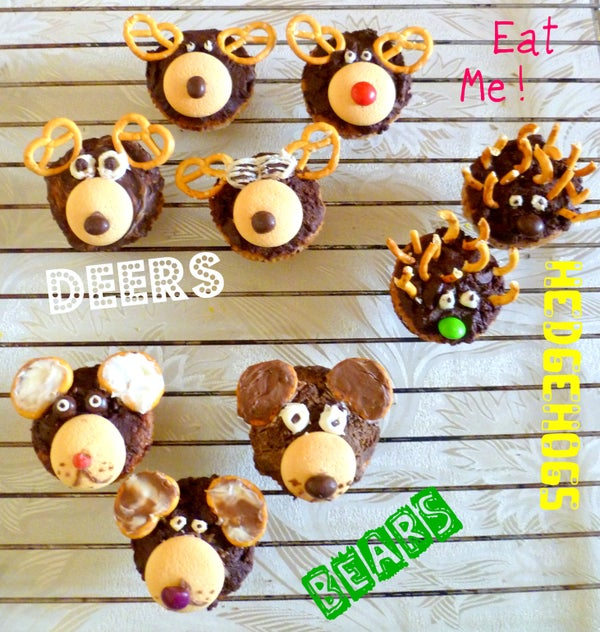 Fruity Animal Muffins