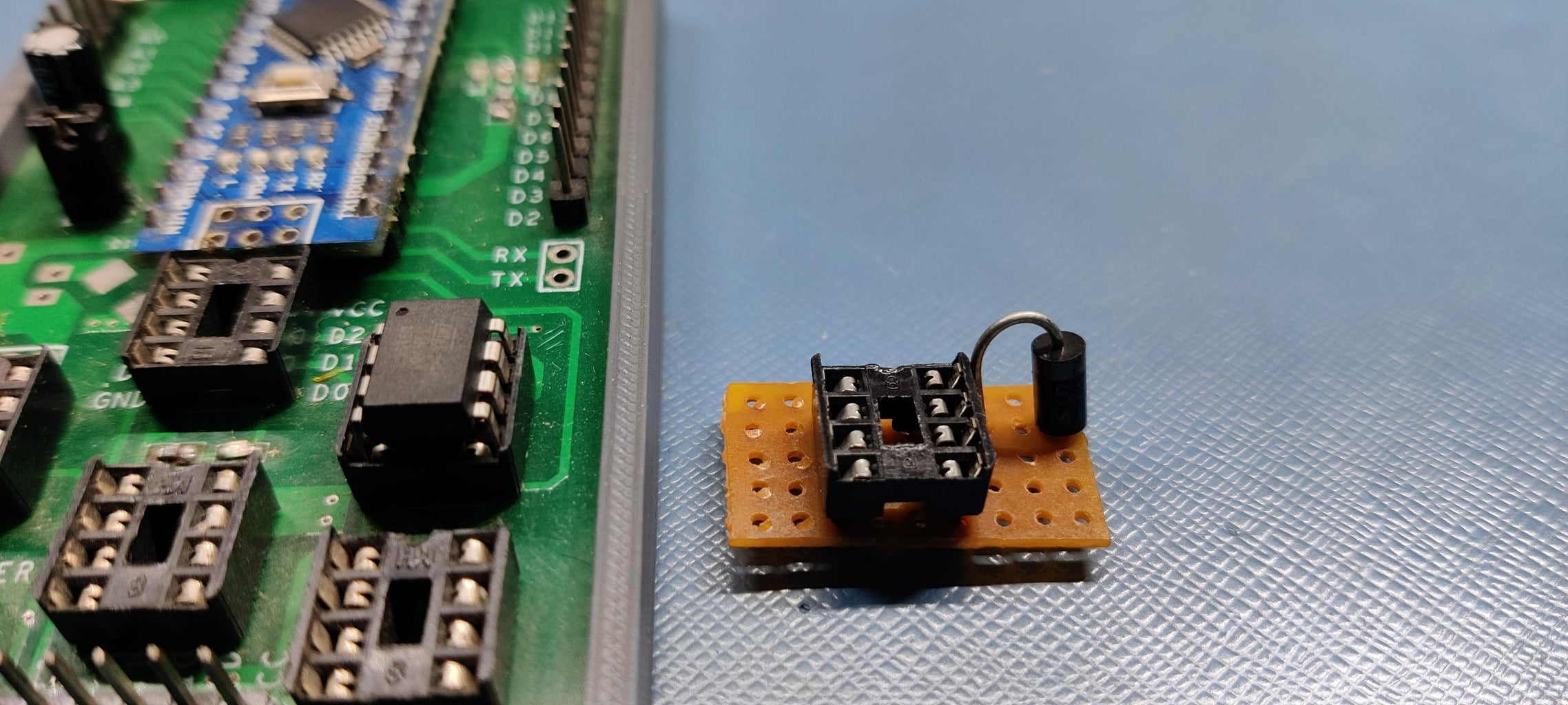 Flashing Process With Arduino As ISP Programmer