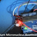 Burn or Flash Micronucleus Bootloader on Attiny Chips using Arduino UNO