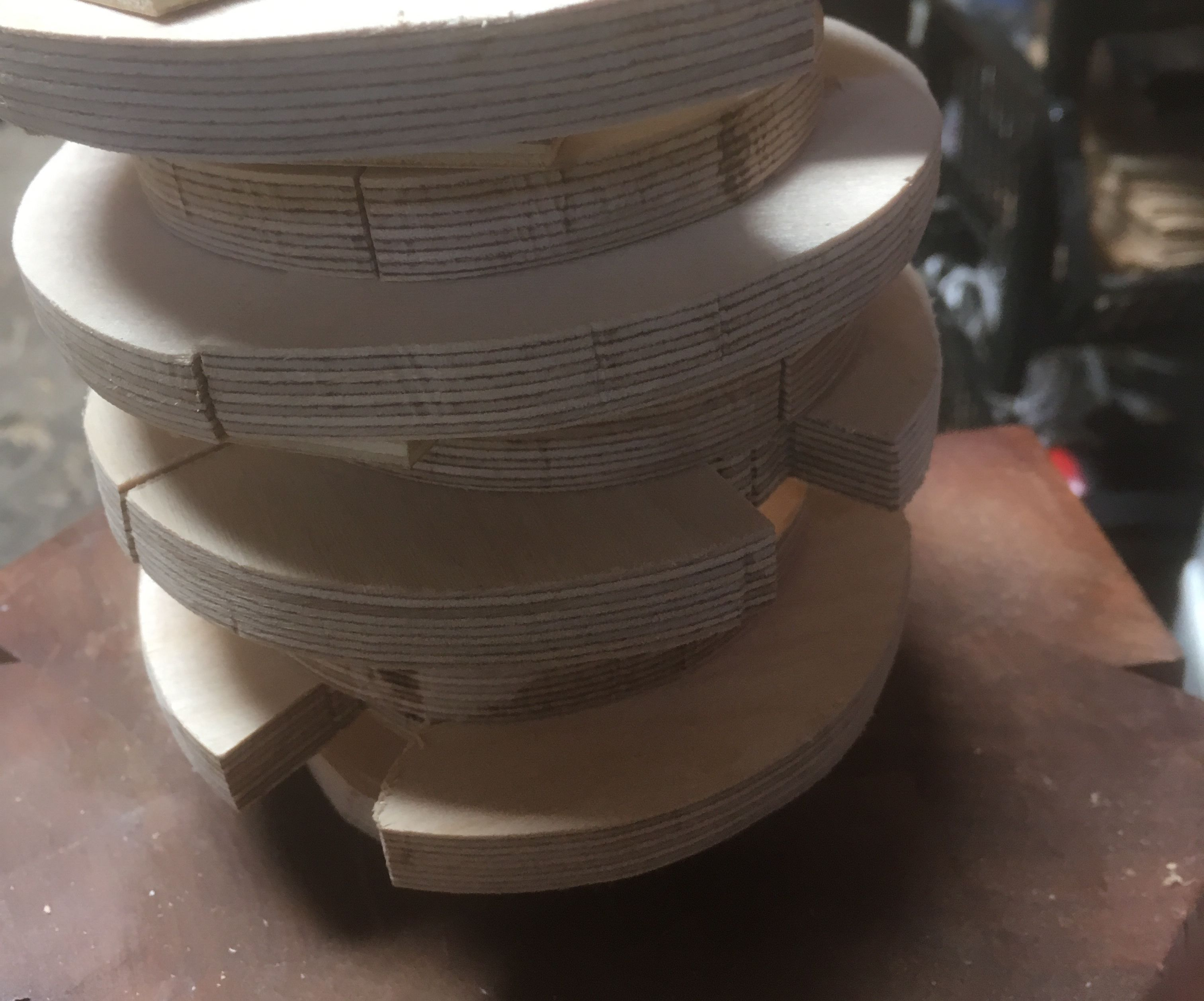 Making a simple form for 3-D wood bending
