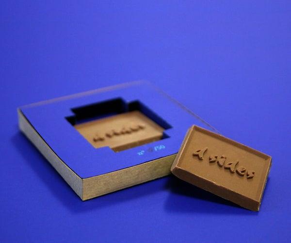 Make Custom Chocolates With 3D Printing !