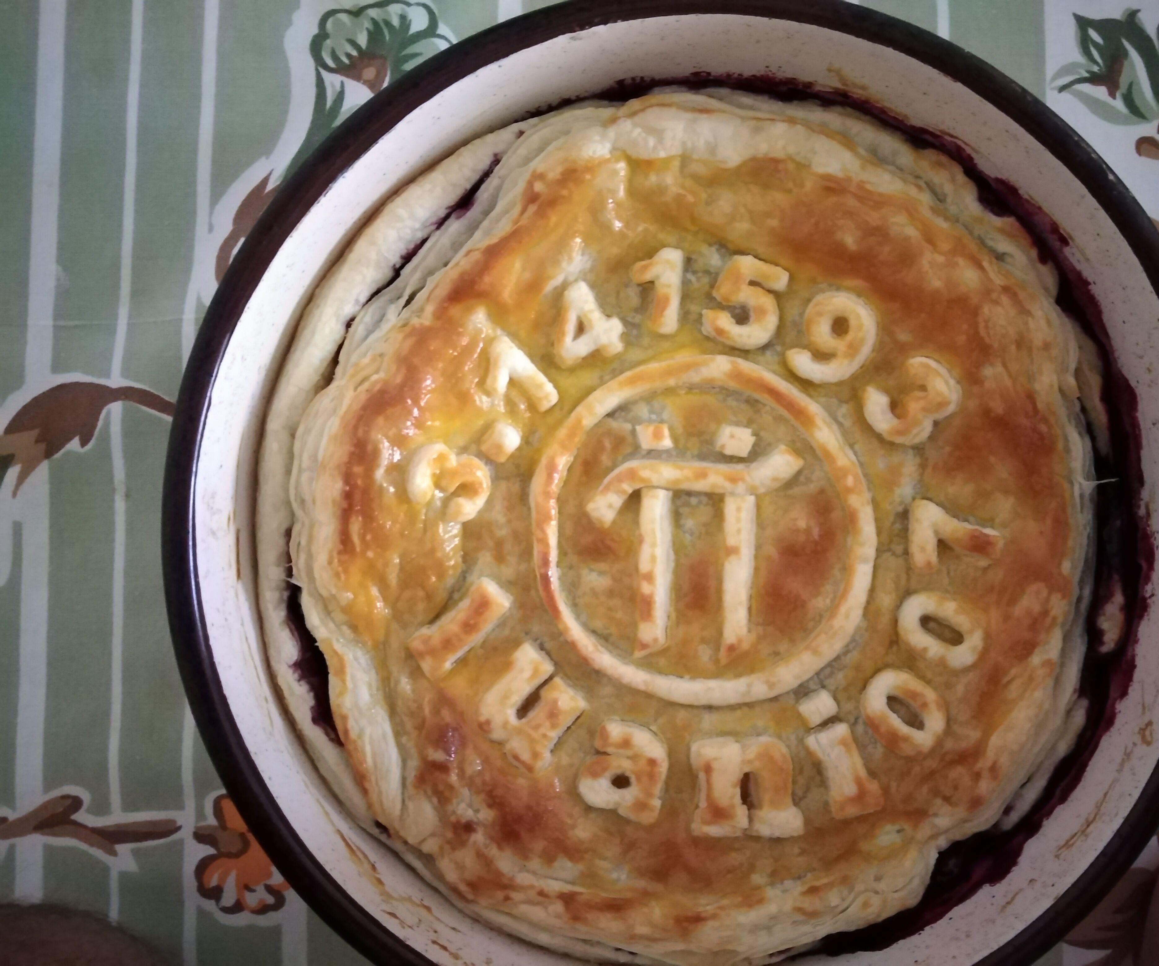 Pi Network Blueberry Pie