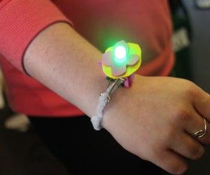 LED Pipe Cleaner Bracelet