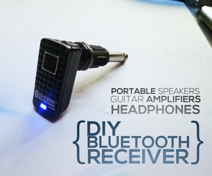 DIY Bluetooth Receiver for Any Amplifiers Under 3$
