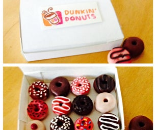 DIY Easy Dunkin Donuts Charms