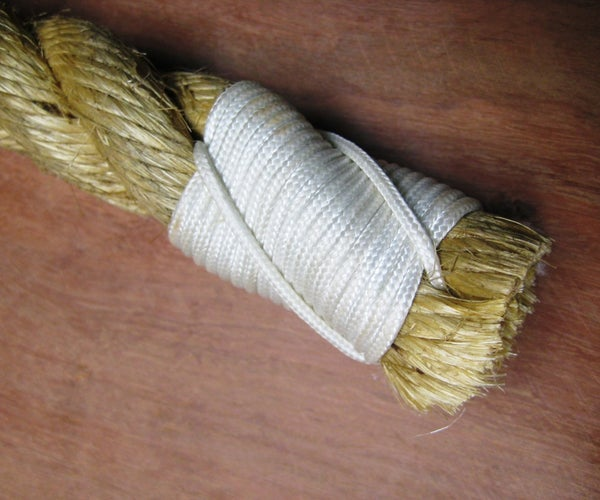 Sailmaker's Whipping - Step by Step