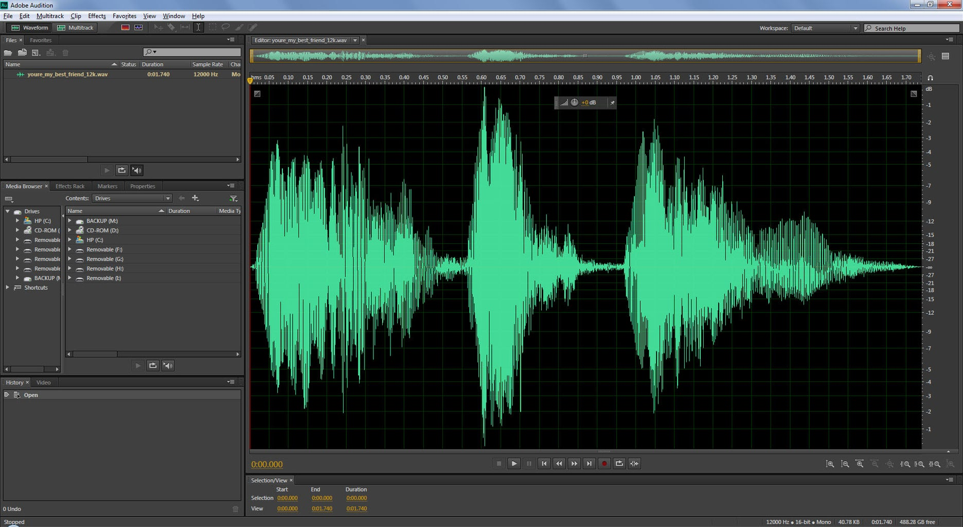 Recording Your Child's Voice
