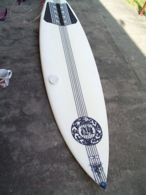 How to clean and re-wax a surfboard