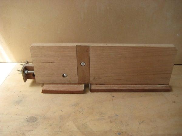 Mirco-adjustment Box Joint Jig